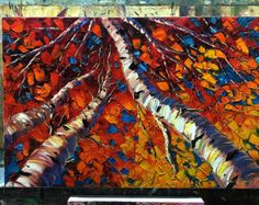CUSTOM Original Landscape Painting Oil on Canvas by willsonart