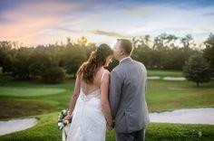 Photo Credit: Chris Carter Photography #Sunset #Wedding #Bliss