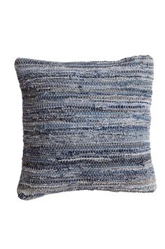 "Tyyny räsymatosta - Pillow from rag rug.  (There's no such thing as a rag rug that's ""too small""!)"