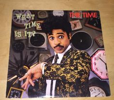 The Time What Time Is It 33 rpm Record LP 1982 Prince Morris Day And