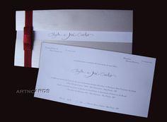 Resultado de imagem para convite com papel opaline