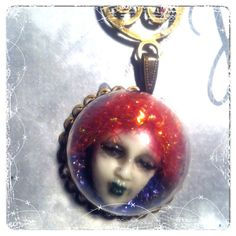The fear oracle necklace by TheDreamsFactory on Etsy