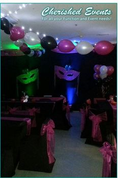 Masquerade Party Ideas | Cherished Events Masquerade Party