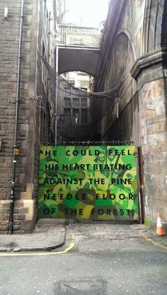 Cowgate - Edinburgh Art Uk, Edinburgh, Street Art, Travel, Voyage, Viajes, Traveling, Trips, Tourism