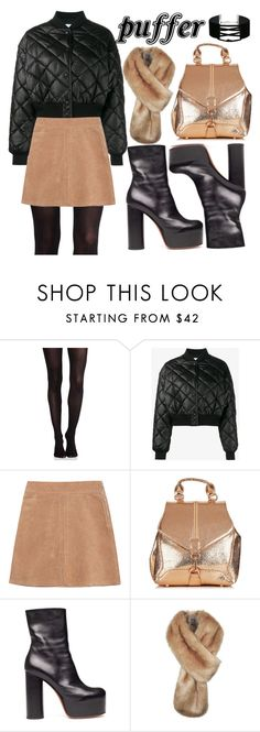 """""""Puffer Jacket"""" by minchu ❤ liked on Polyvore featuring SPANX, STELLA McCARTNEY, See by Chloé, Vetements and Miss Selfridge"""