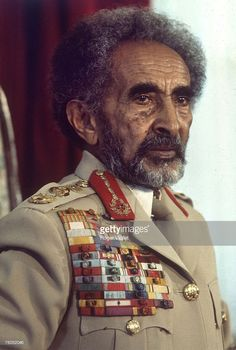 News Photo : Haile Selassie, Emperor of Ethiopia from 1930 to. Haile Selassie, Rastafari Art, History Of Ethiopia, Oromo People, Rastafarian Culture, Black Leaders, Black Royalty, African Royalty, Lion Of Judah