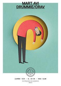 """""""Rotary Klubi"""" Posters By Eiko Ojala"""
