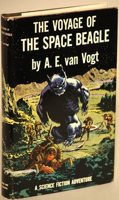 First edition of The Voyage of the Space Beagle by A.E. Van Vogt , 1950.