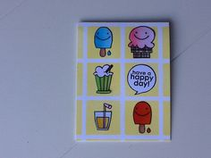 Have a Happy Day card by Hilde - Paper Smooches - Sugar Rush