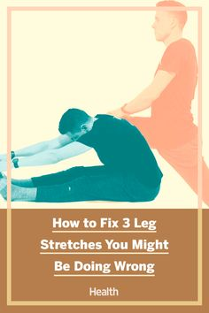 It is possible to injure yourself while stretching. We we asked a trained to show us how to fix three stretches people always get wrong. #stretching #fitnesstips #mobility #injuryprevention