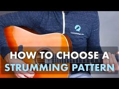 How To Choose A Strumming Pattern Music Lessons, Guitar Lessons, Guitar Strumming, Guitar Tips, Online Work, Coaching, Shit Happens, Songs, Acoustic