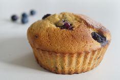 Superlære, svampede blåbærmuffins. Perfekte til dig, der lever efter low carb eller LCHF principperne.