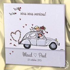 faire part de mariage humoristique en 2cv mh14 046 - Faire Part Humoristique Mariage