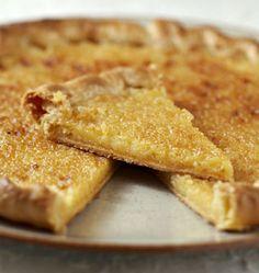 Tarte au citron et à la vanille - les meilleures recettes de cuisine d'Ôdélices