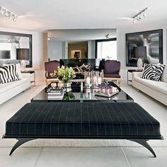 Hoje selecionei para vocês algumas opções lindíssimas de ambientes decorados pela arquiteta Chris Hamoui!     Confiram...                  ...