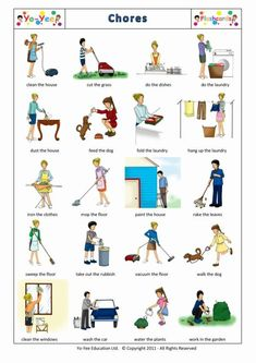 Image result for chores in pictures