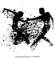 ink splash dancers by williammpark, via Shutterstock