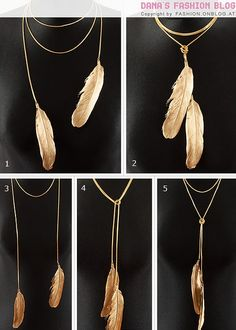 golden feathers: exactly what I have been searching for for the past 2 years. Earrings to match?