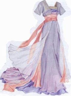 "The ""sinking ship"" dress from Titanic. I've wanted to make this one for a nu… The ""sinking ship"" dress from Titanic. I've wanted to make this one for a number of years. Titanic Costume, Titanic Dress, Titanic Movie, Kate Titanic, Titanic Wedding, Rms Titanic, Historical Costume, Historical Clothing, Historical Dress"