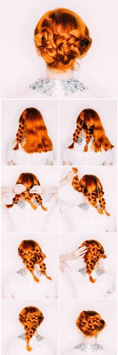 Wedding Hairstyles for Long Hair - Volume and Vintage - Looking For The Perfect Updo Or Half Up For Your Wedding Day? I've Covered My Favorite DIY And Professional Hairstyles For Long Hair With Amazing To The Side Looks, Styles With Braids, And How To Work With Veil And With Flowers In Your Hair. Great Step By Step Tutorials For A Bridesmaid Look And Some Simple And Elegant Ideas For A Vintage Wedding As Well. Great Looks For Blondes And