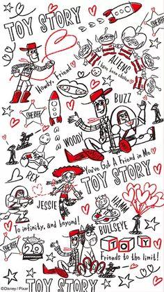 ディズニーの画像ですディズニー♡♡[52522781]の画像。見やすい!探しやすい!待受,デコメ,お宝画像も必ず見つかるプリ画像 Disney Character Drawings, Disney Drawings, Cartoon Drawings, Disney Collage, Disney Art, Disney Pixar, Wallpaper Iphone Disney, Cute Disney Wallpaper, Disney Images