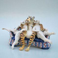 "Andree Richmond - Ceramic Artist ""My Bunnies"""