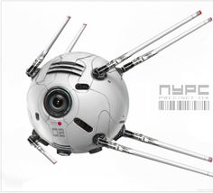 Ship concepts for PRECINCT 114 by Ben Mauro