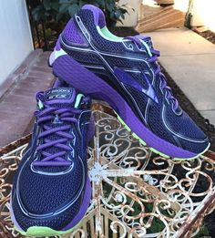 a07870b9373 Brooks GTS 16 Women s Running Shoes Size 11 M (B) US 43 EU Purple Fitness  DNA