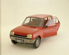 Renault 5 Vintage - our first car. colour grey