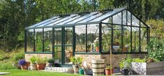 Classical greenhouses - in Swedish