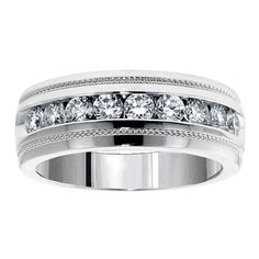 Fine Jewelry Three Stone Wedding Ring 0.40ct Round Diamond 14k Yellow Gold Sz 4-12 Prong Set To Have Both The Quality Of Tenacity And Hardness Engagement Rings