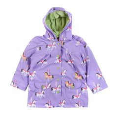 Lovely carousel purple coat, this is one of our favorites.