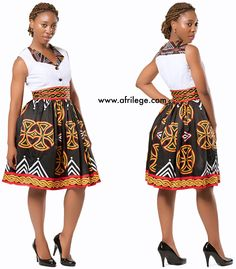Look at this Fashionable traditional african fashion African Print Skirt, African Print Dresses, African Fashion Dresses, African Dress, African Fashion Designers, African Print Fashion, Africa Fashion, African Shirts, African Wear