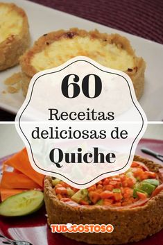 Quiches, Quiche Muffins, Diet Recipes, Vegan Recipes, Pizza And More, Quiche Lorraine, Slow Food, Finger Foods, Meal Prep