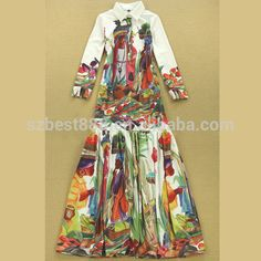 Fashion mommy and me maxi dress african woman dress