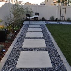 Modern Garden Landscaping and Garden Design or Landscape Design Ideas – front yard landscaping simple Landscape Steps, Modern Landscape Design, Modern Garden Design, Contemporary Garden, Landscape Plans, Modern Design, Landscape Architecture, Minimalist Architecture, Garden Landscape Design