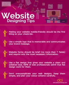 Here are some Web Designing tips that can help your website generate the maximum leads and revenue for your small business!