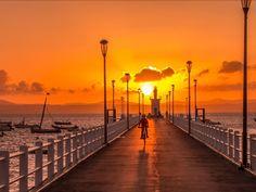 Sunset coucher de soleil Normandie  Normandy  France