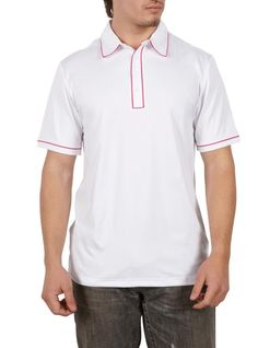 1df81ae7e7 Adidas Men s Puremotion Piped Polo Shirt