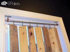Diy Pallet Wood Vertical Blinds Pallet Wall Decor & Pallet Painting
