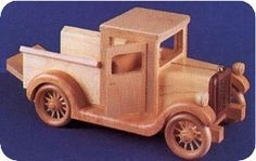 Old wooden truck