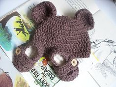 Cuddle Bear Newborn Set