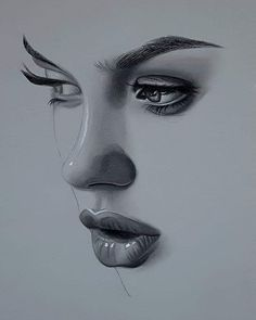 Discover the secrets of drawing realistic pencil portraits. Pencil Portrait Drawing, Pop Art Drawing, Realistic Pencil Drawings, Girl Drawing Sketches, Dark Art Drawings, Unique Drawings, Pencil Art Drawings, Portrait Art, Realism Art