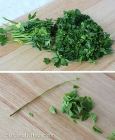 Fresh Herbs - how to grow, what to use to cook with and how to cook with them