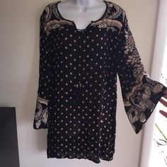 NWT flair sleeve mini dress. Just darling. 100% rayon. 32 inches long. Firm unless bundled  large is:breast area is 42 inches and hip area is 48 inches. Angie Dresses Mini