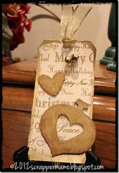 Heart Ornament on stand
