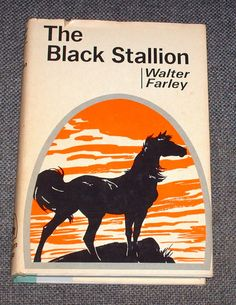 The Black Stallion Book by Walter Farley 1941 by vintagesales44.  I devoured all the Black Stallion books in about 3rd grade.