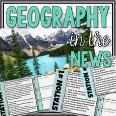 Are you looking for a way to connect Geography to current events? This Geography in the News Stations Activity is an engaging (and simple) way to do it! This activity requires very little prep! All you need to do is share a link or post in your Google Classroom. Links to online newspapers are includ...