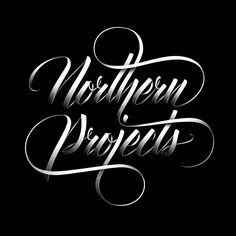 Northern Projects Typo on Behance