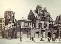 #München, #Lenbachplatz, um 1905.
